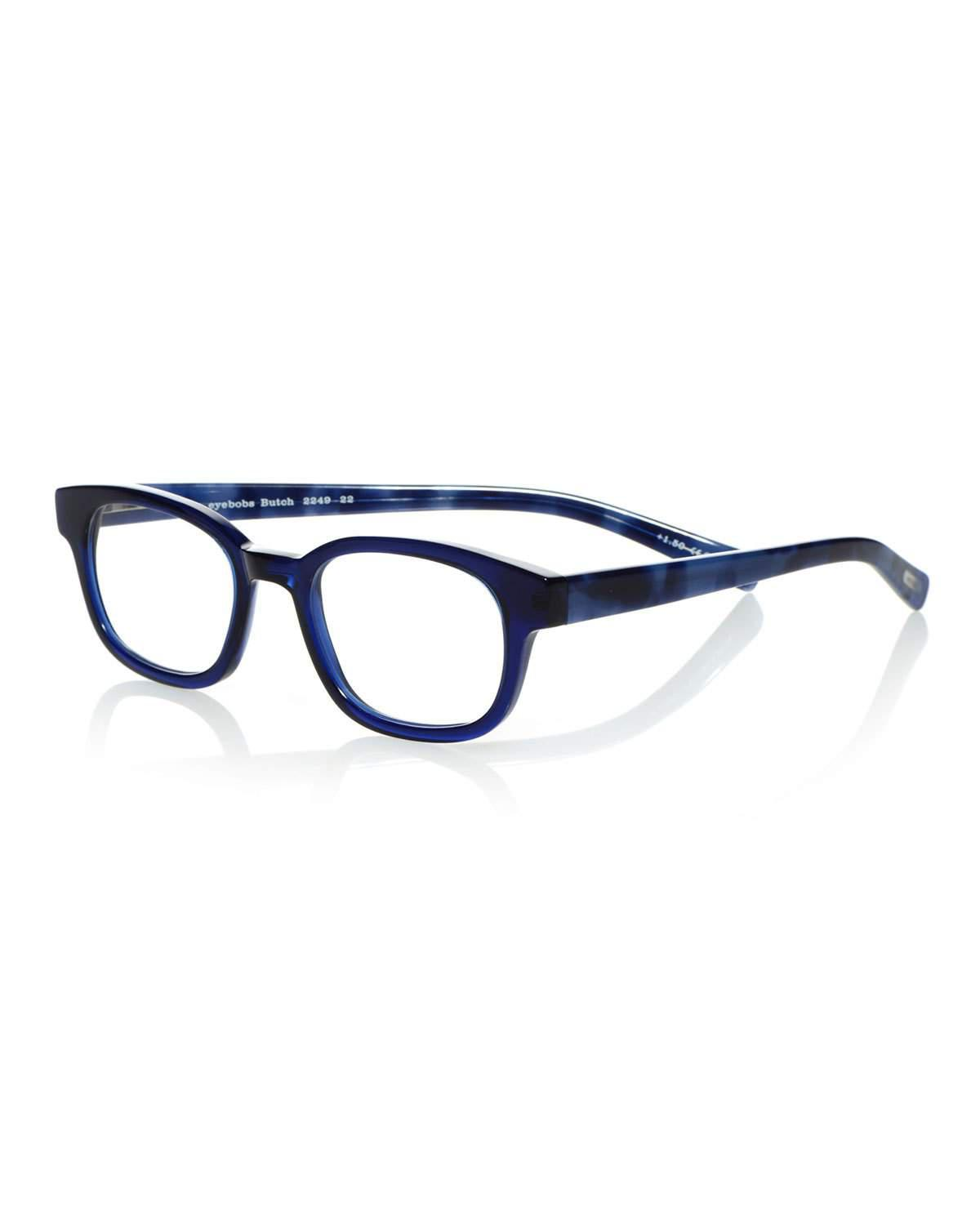 055daff565 Lyst - Eyebobs Butch Acetate Reading Glasses in Blue