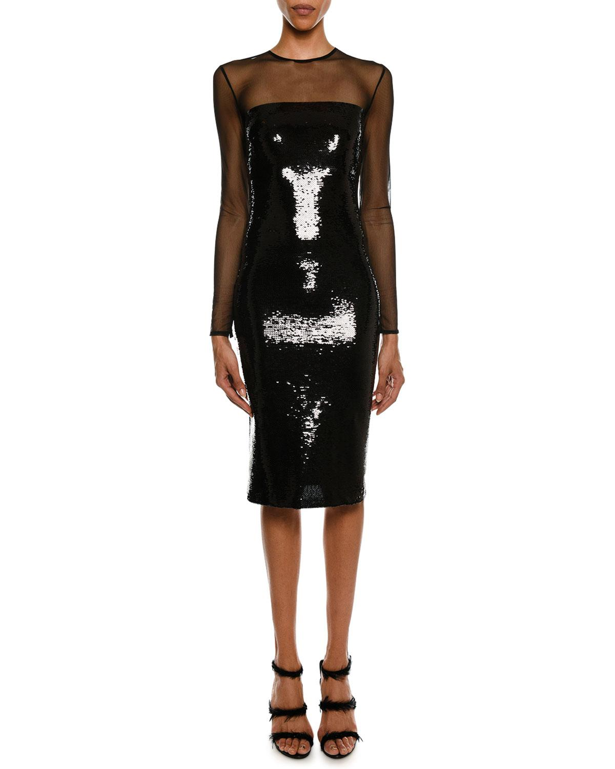b41167392ea Gallery. Previously sold at  Neiman Marcus · Women s Black Cocktail Dresses