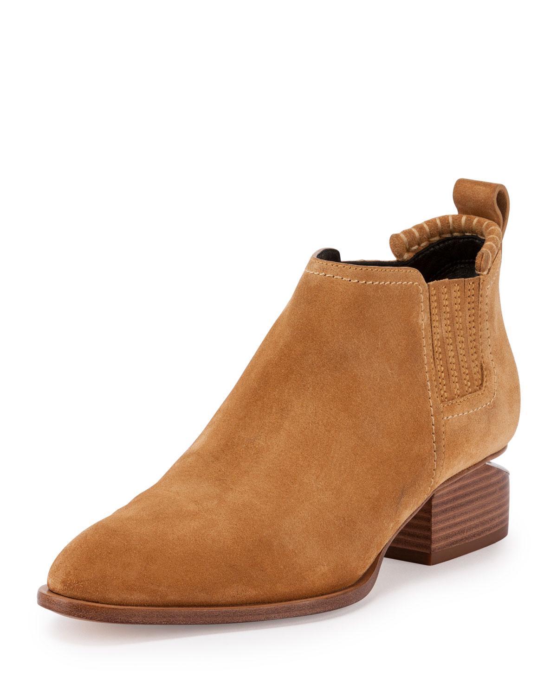 Valentino Brown Suede Kori Boots km18pVg9p