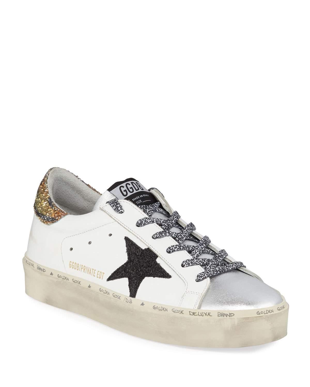 Goose Hi Star Tiger Leopard Sneakers