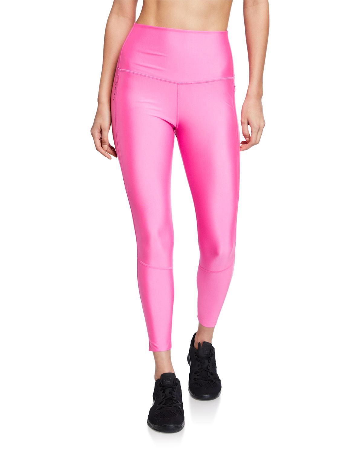 dc09c159b72658 Nike Tech Pack 2.0 Neon Stretch Leggings in Pink - Lyst
