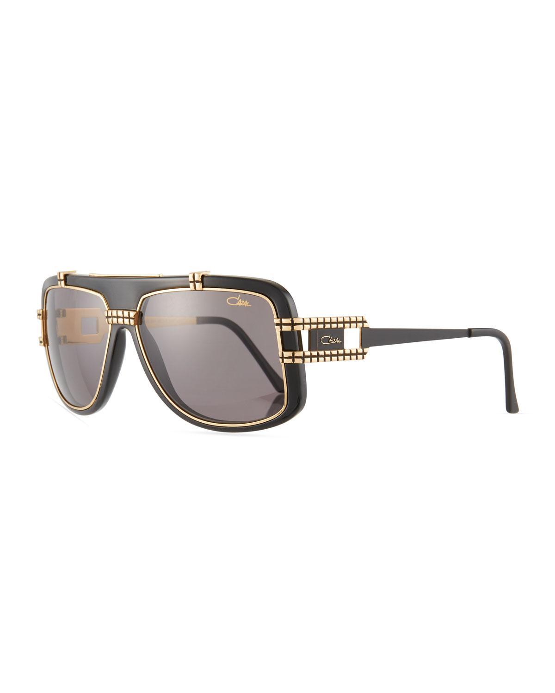 7b4bb3a6115c Lyst - Cazal Men s Acetate metal Shield Sunglasses for Men