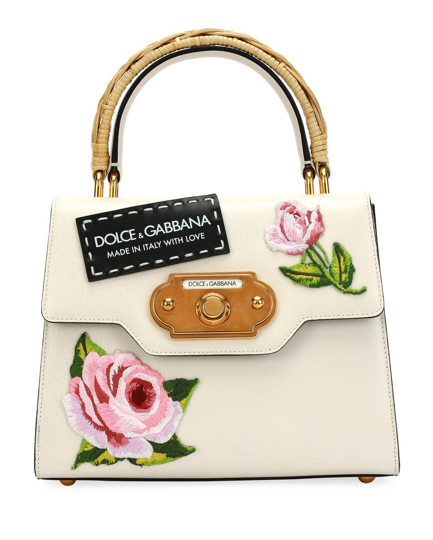 bf8ca4127c Dolce & Gabbana Welcome Medium Vintage Top-handle Bag - Lyst