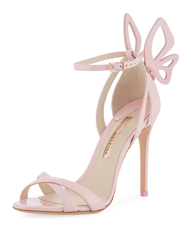 b8dfe7fd55b Sophia Webster Pink Madame Chiara Butterfly Sandal