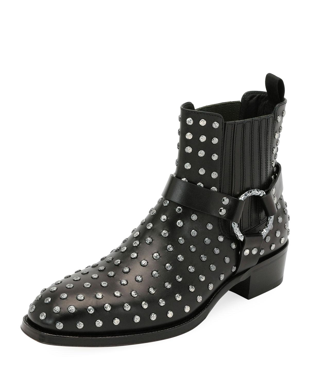 Alexander McQueen Men's Studded Leather