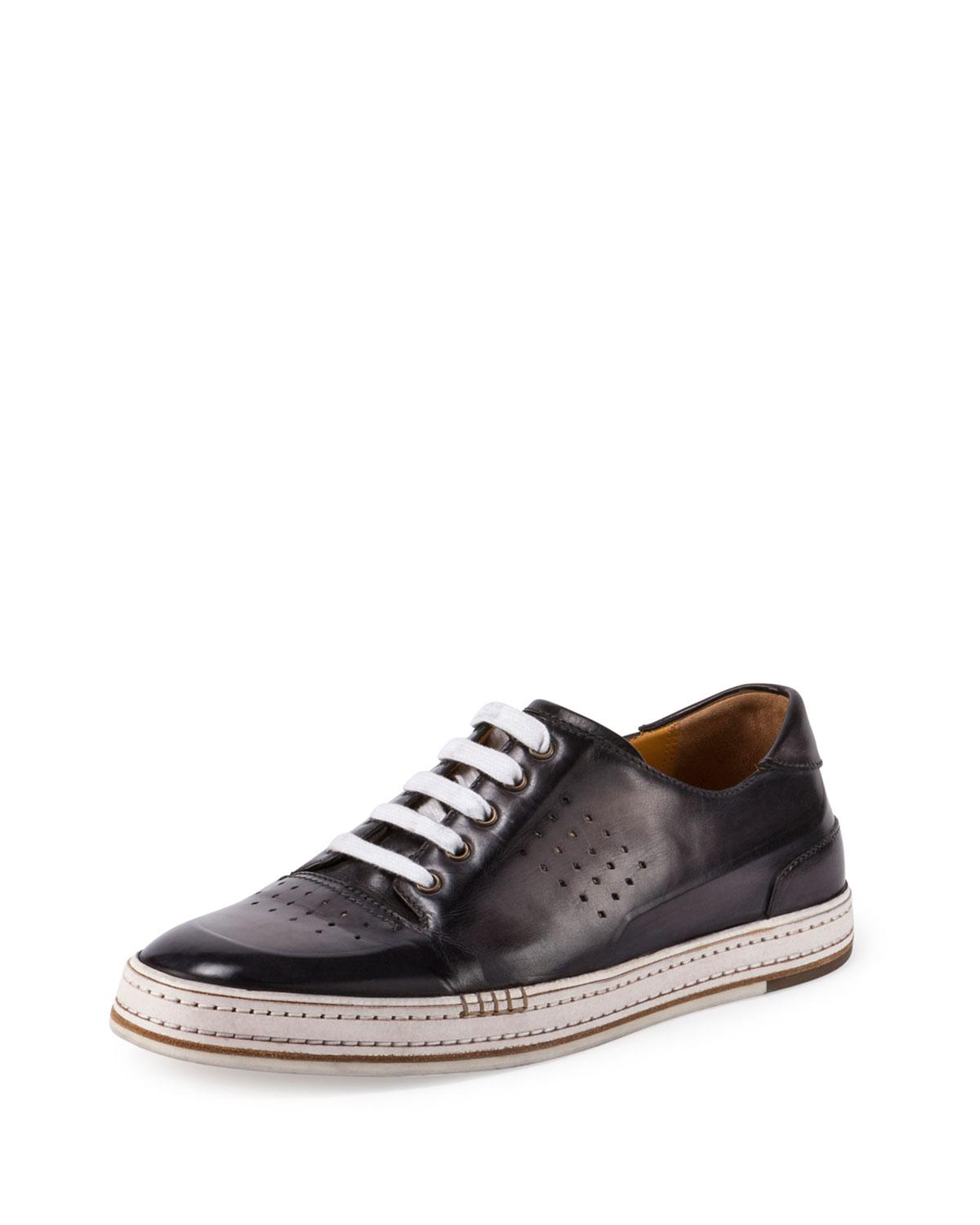 Playtime Leather Sneakers Berluti Official Site Sale Original Cheap Fashion Style Discount Get To Buy ORUTv2
