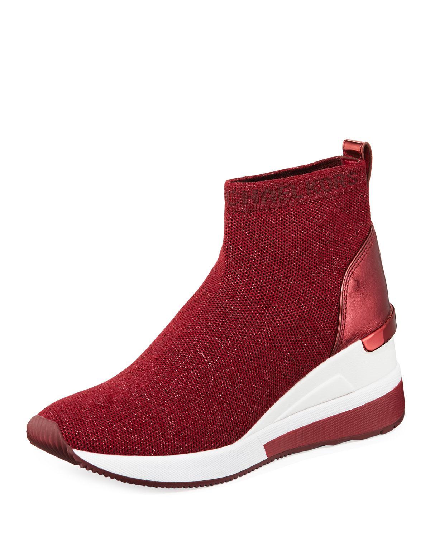 Skyler Knit Bootie Sneakers