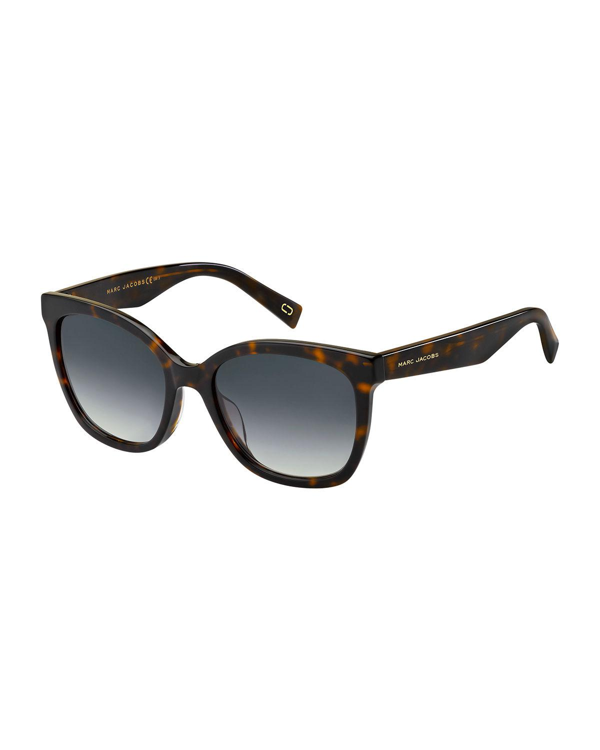 7bc371d59e7f Marc Jacobs - Brown Round Mirrored Acetate Sunglasses for Men - Lyst. View  fullscreen