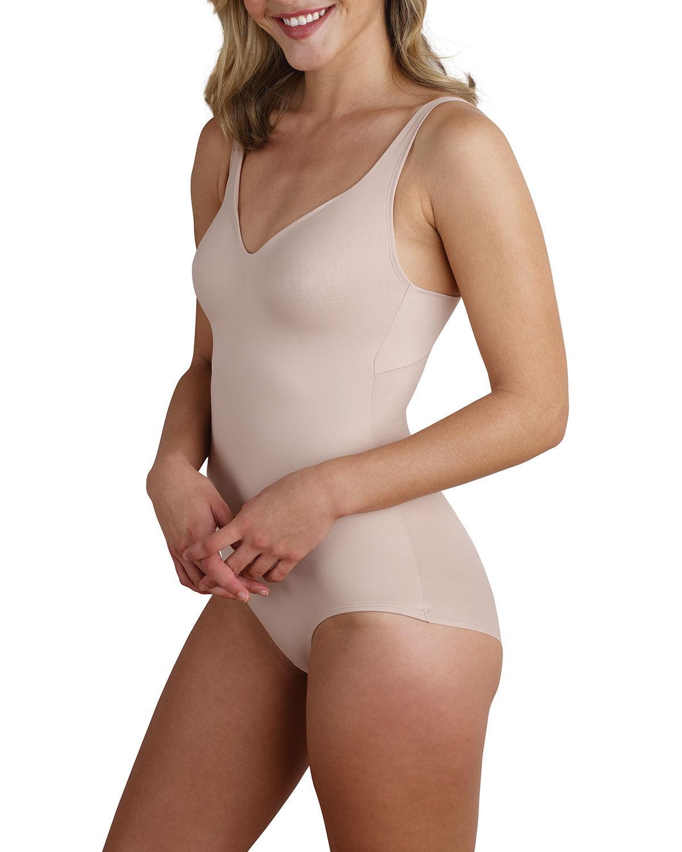 d4c2b3a19200a Lyst - Tc Fine Intimates Wonderful U Body Briefer Bodysuit in Brown