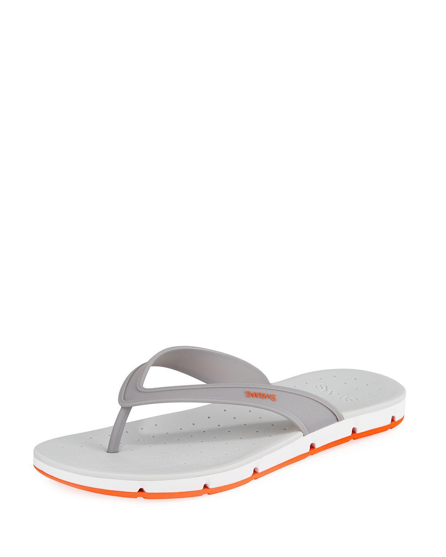 0e74d0710431 Lyst - Swims Men s Breeze Flip Flops in Gray for Men - Save 67%