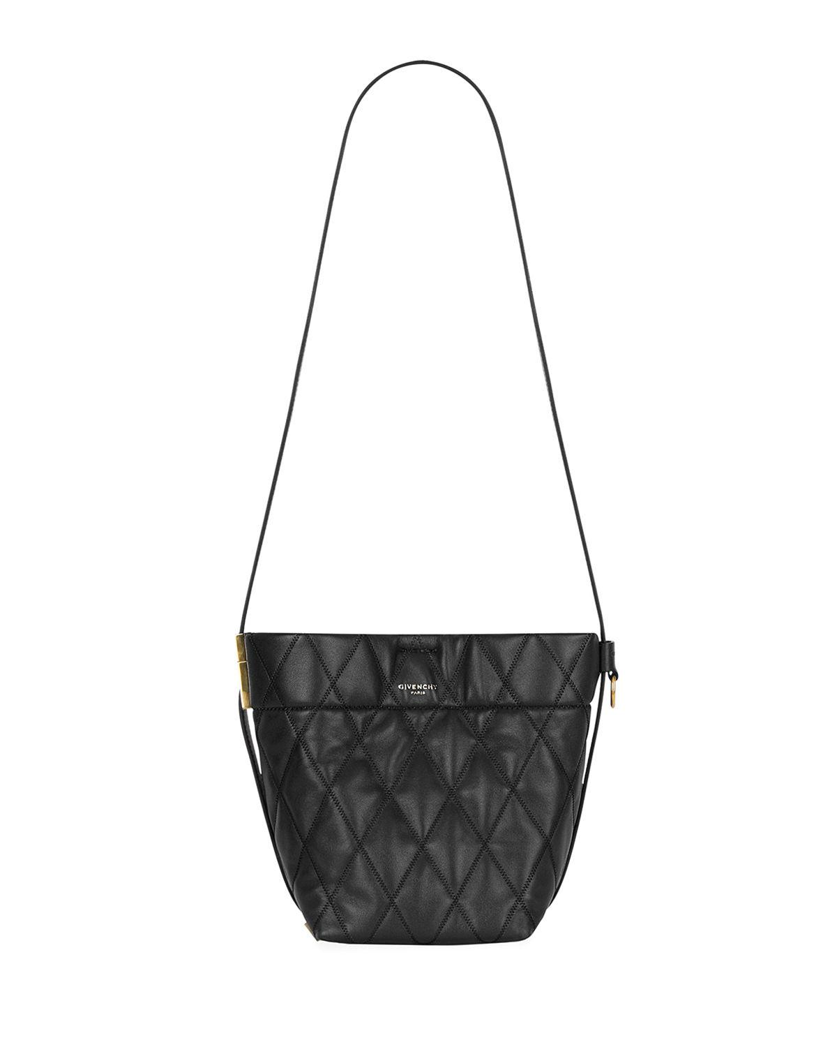 Givenchy. Women s Black Gv Quilted Mini Bucket Bag.  1,590 From Neiman  Marcus 600dfdd286