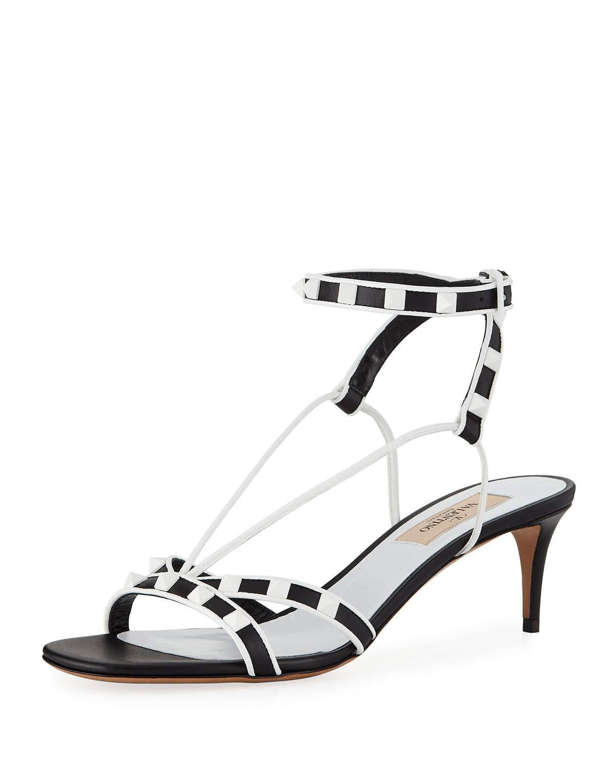 Free Rockstud heel sandals Valentino Outlet For Nice Cost For Sale Sale Cheapest Amazing Price Online zp48PQT5k