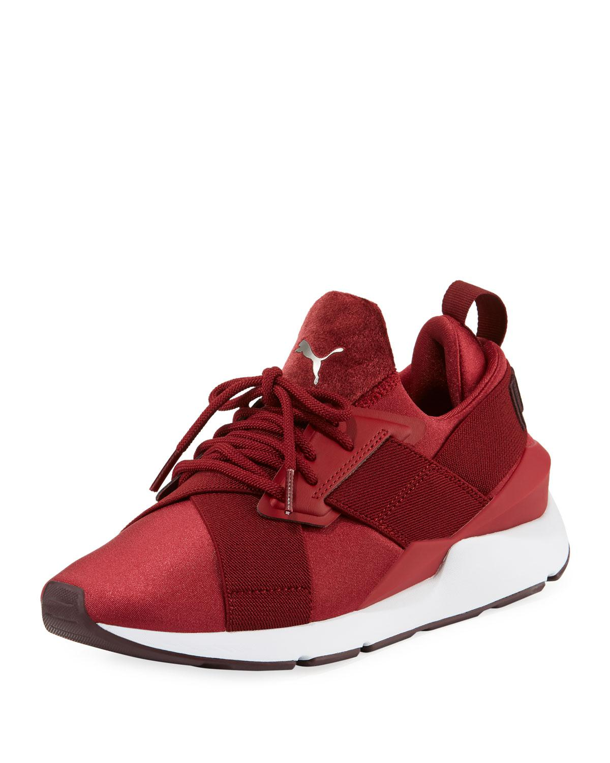 Muse Satin Ii Lace-up Sneakers
