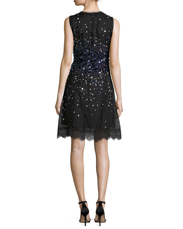 Elie Tahari Fatimah Dress In Black Lyst