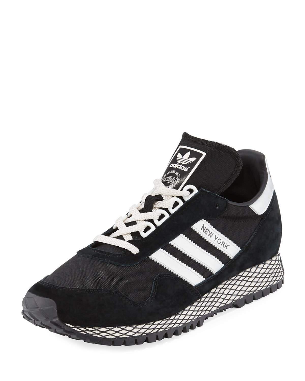 Lyst adidas, new york, scarpe da ginnastica in nero per gli uomini.