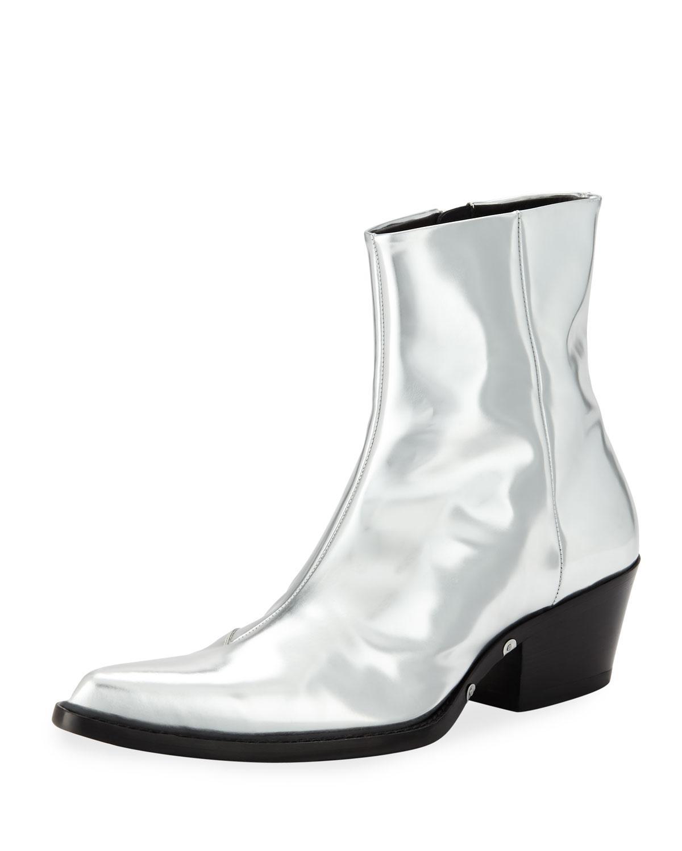 d33340bee73 Men's Temo 4 Metallic Leather Boots