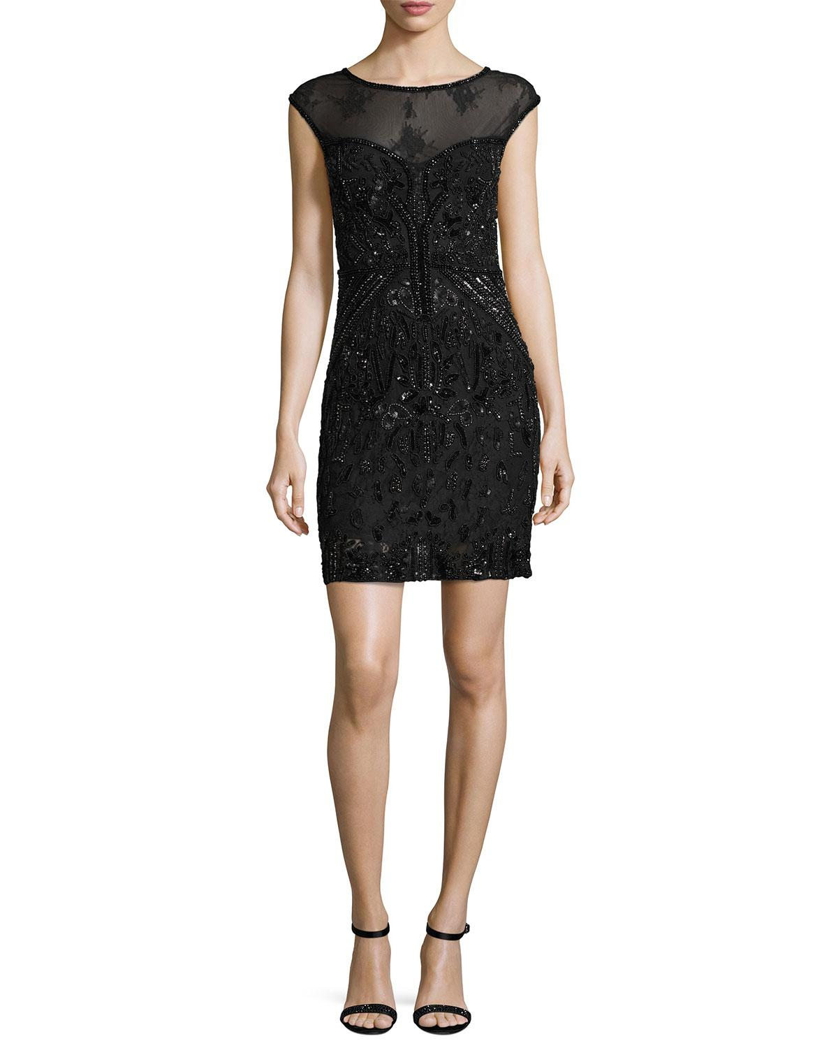 f130f66104 Gallery. Previously sold at  Neiman Marcus · Women s Black Cocktail Dresses  ...