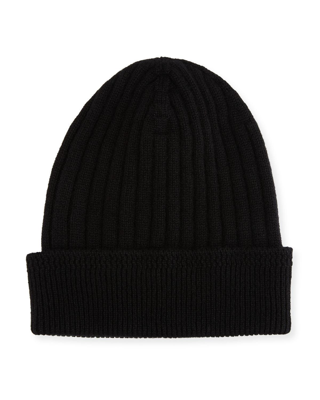 871725d6b0d Lyst - Tom Ford Cashmere Ribbed Hat in Black for Men