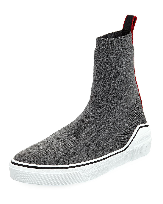 GivenchyMen's George V Hi Sock Sneaker eHKYHGxG