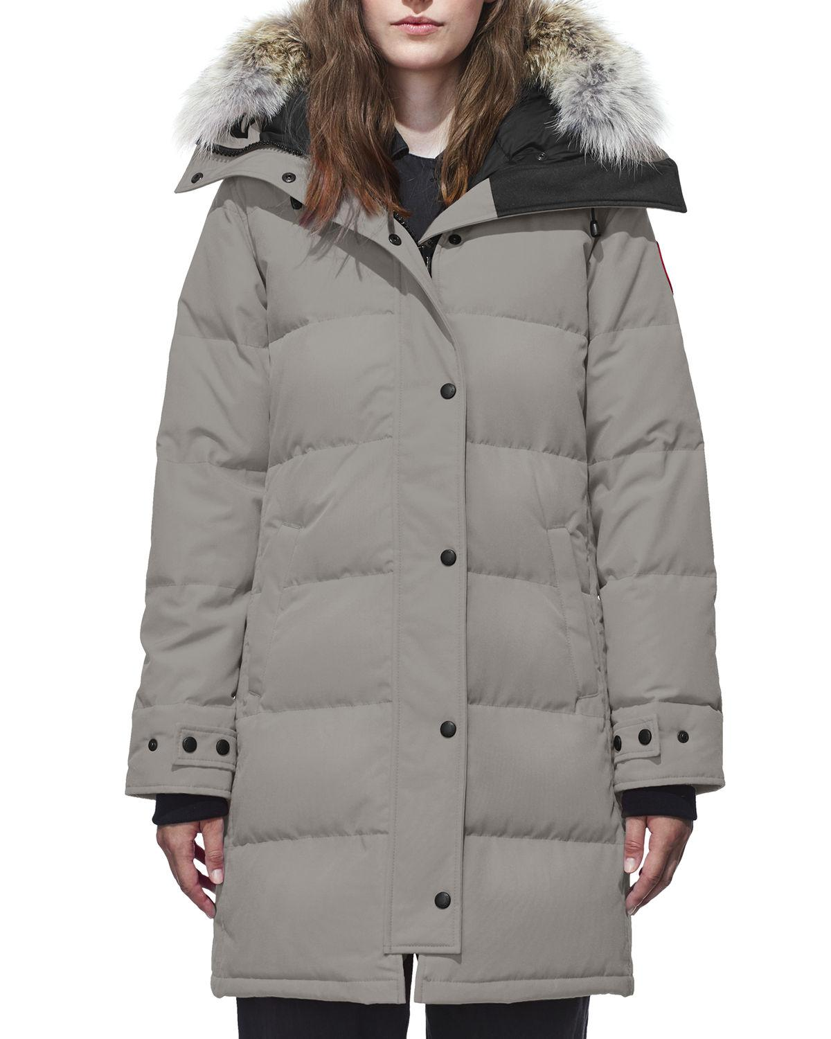 canada goose fur removable