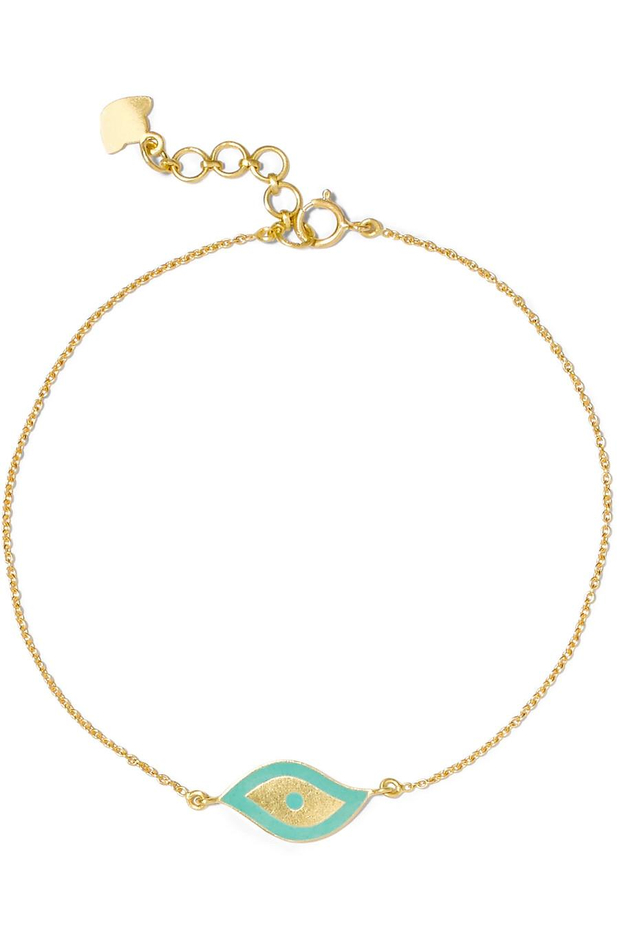 Amrapali 18-karat Gold Enamel Bracelet mihfC4ntrP