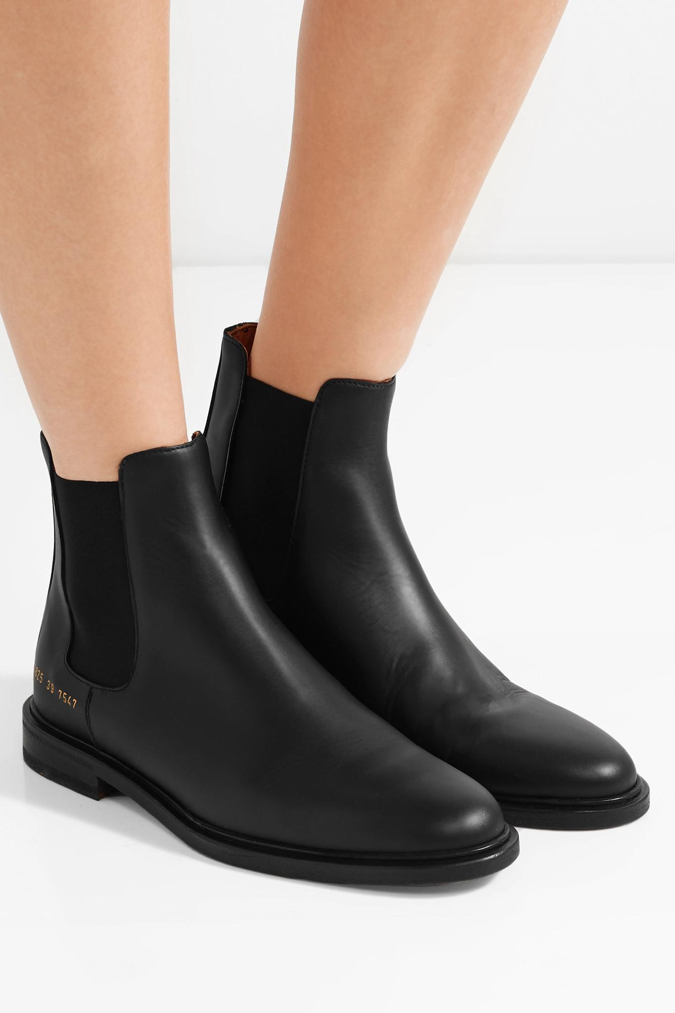 Common Projects Chelsea Boot in Black