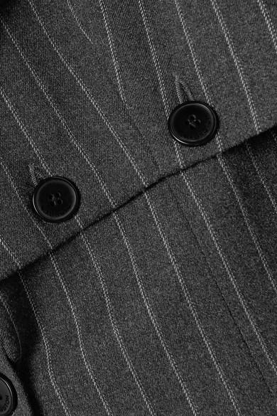 Blazer Convertible Tissé À Fines Rayures Tracey Satin 16Arlington en coloris Gris