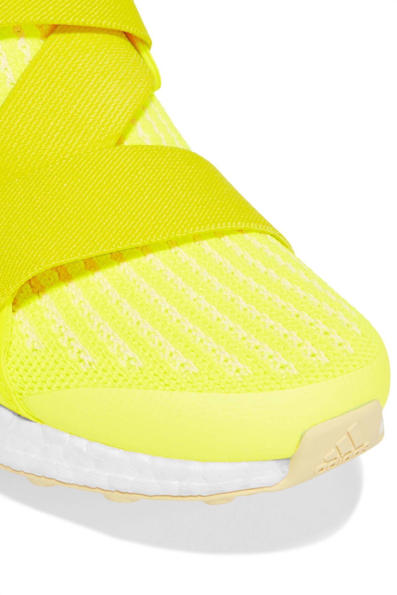 on sale cacc0 7ceca Adidas By Stella McCartney - Yellow Ultraboost X Neon Primeknit Sneakers -  Lyst. View fullscreen