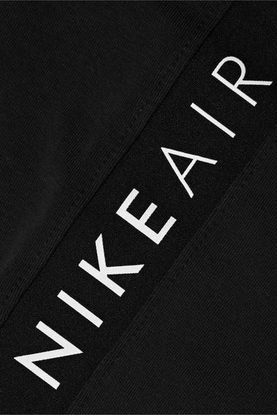 Short En Coton Mélangé Stretch Imprimé Air Coton Nike en coloris Noir