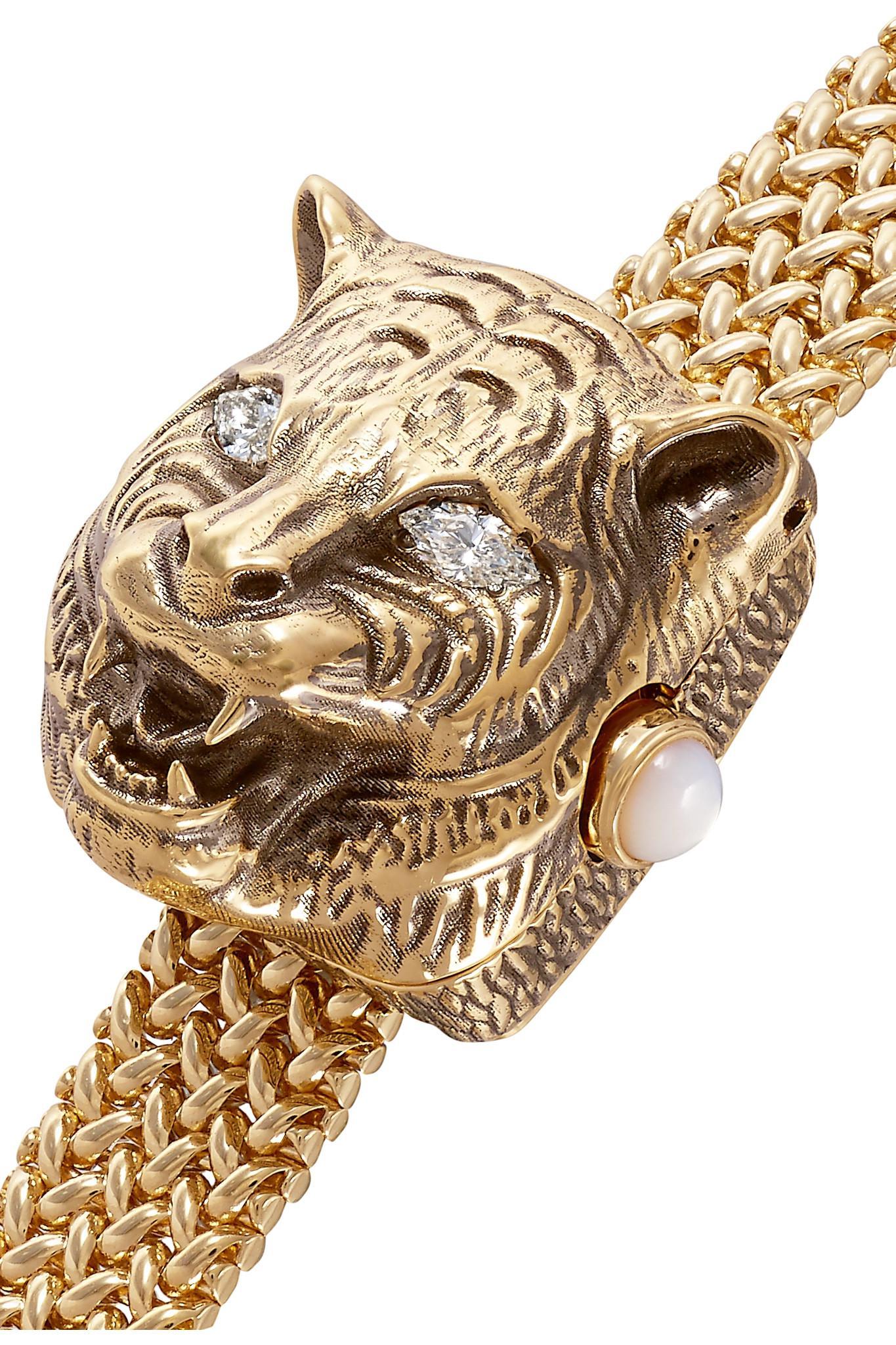 9dbd287a50c Lyst - Gucci Le Marché Des Merveilles Secret 8mm 18-karat Gold ...