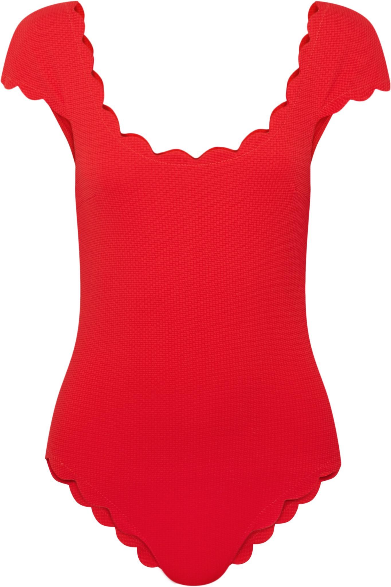 GANNI - Maillot De Bain Imprimé Profilic - Rouge Ebay En Ligne zWnqCRUEk