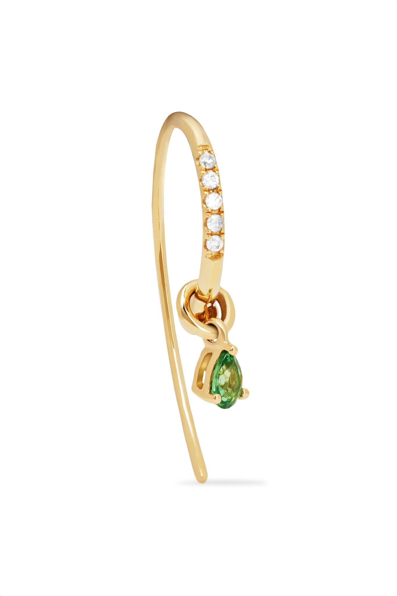 18k yellow gold Bo Pince De Grabe diamond earring Yvonne L 2qbGlan