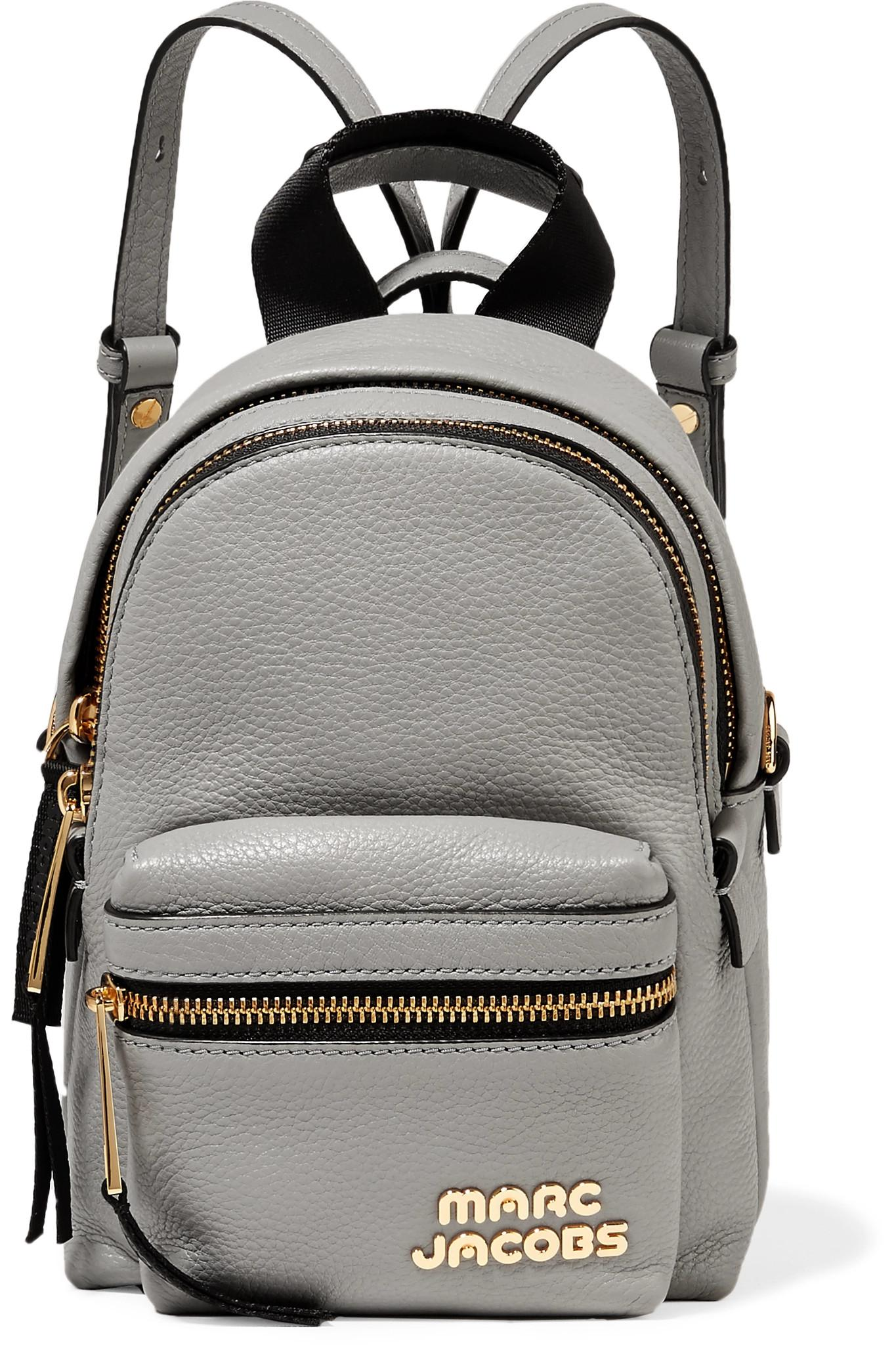 Micro Leather Backpack