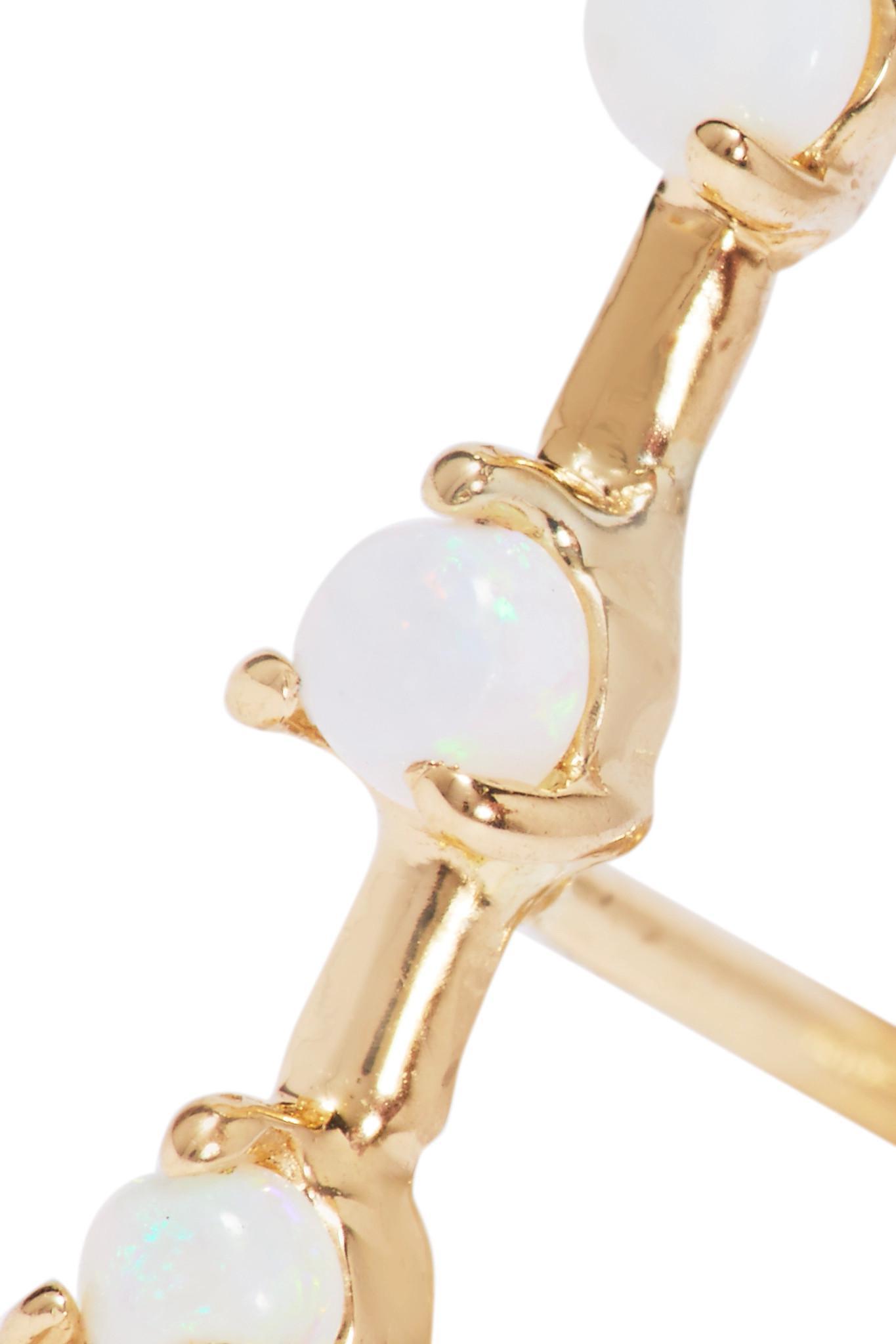 14-karat Gold Diamond Earrings - one size Wwake