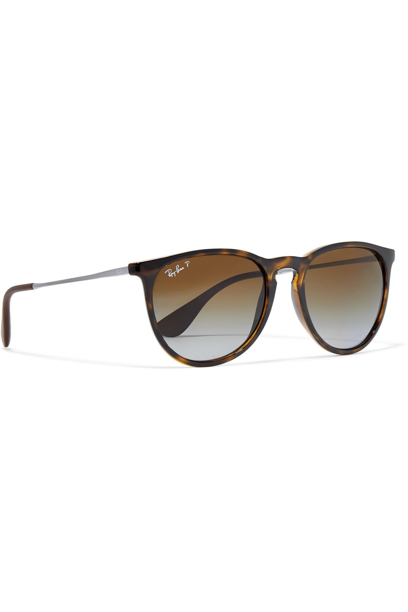 aca9962983 Ray-Ban - Multicolor Round-frame Tortoiseshell Acetate And Gunmetal-tone  Sunglasses -. View fullscreen