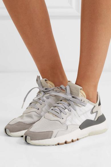 basket adidas nite jogger femme