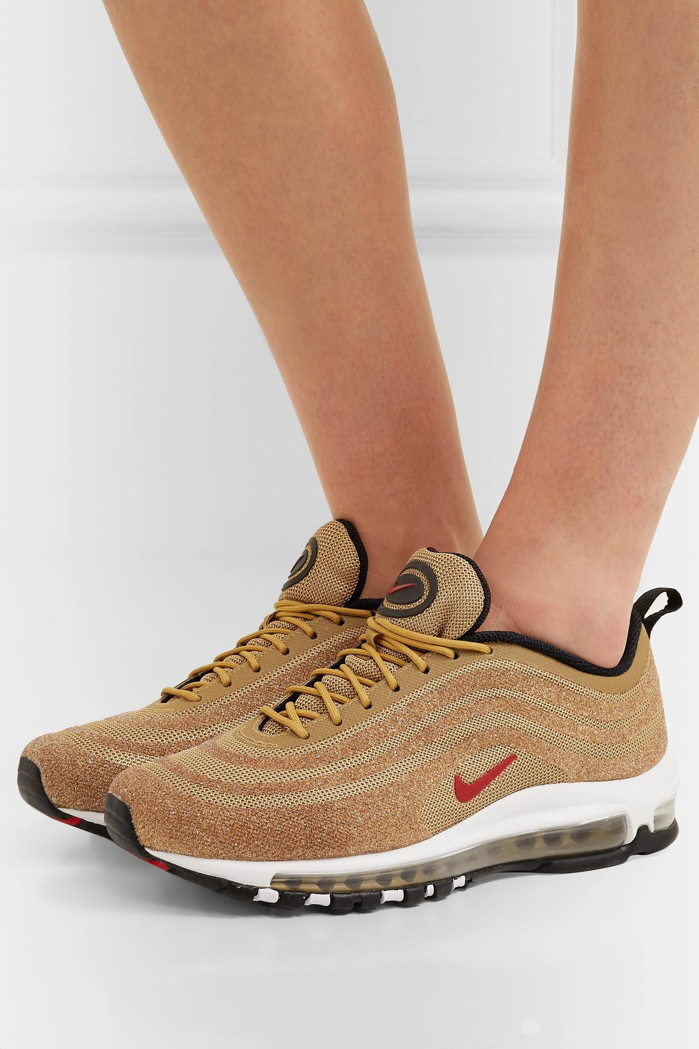 best price fashion styles well known Air Max 97 Swarovski Crystal-embellished Mesh Sneakers