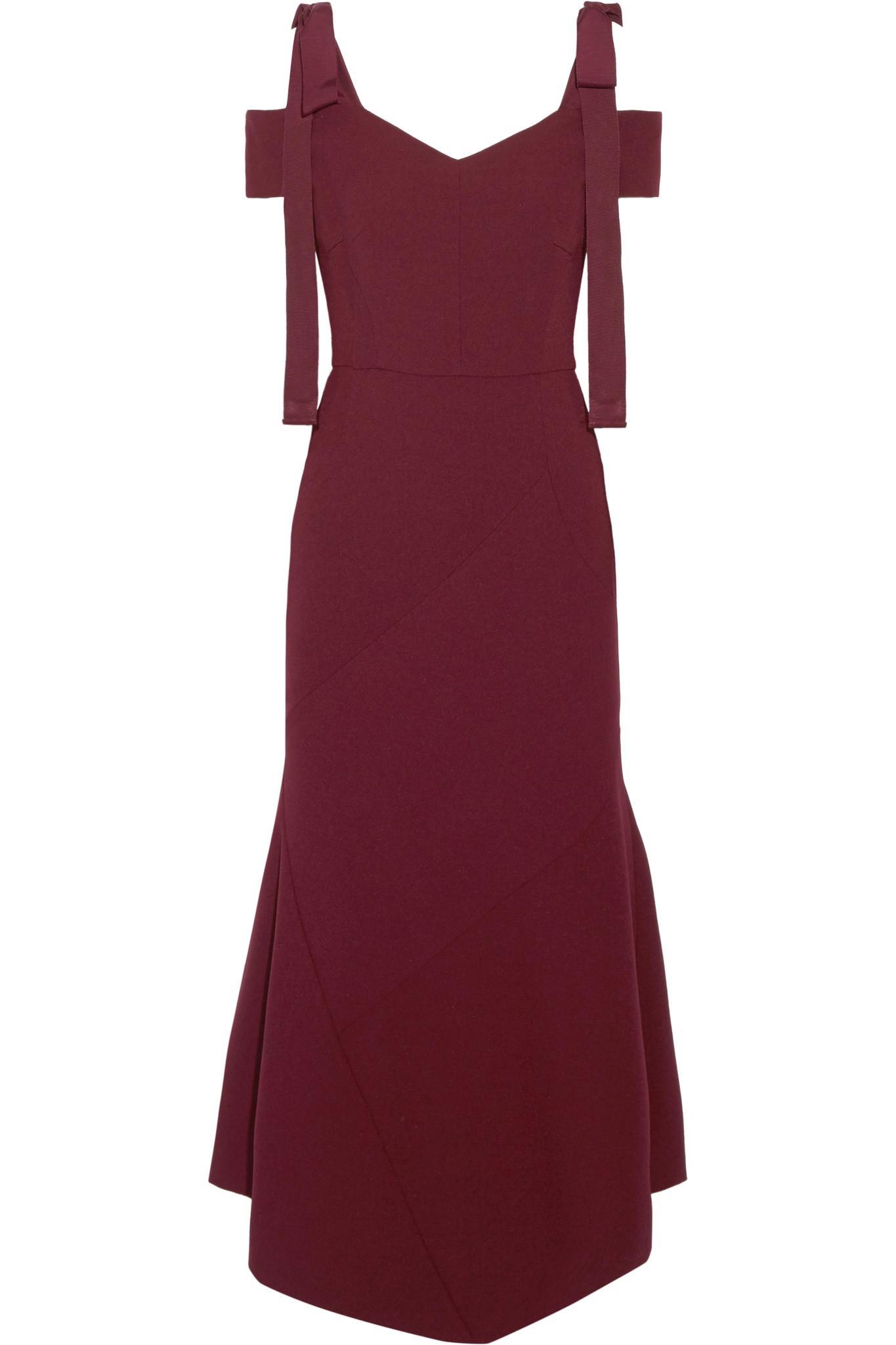 Kara Velvet Midi Dress - Black Rebecca Vallance oGSX1Na