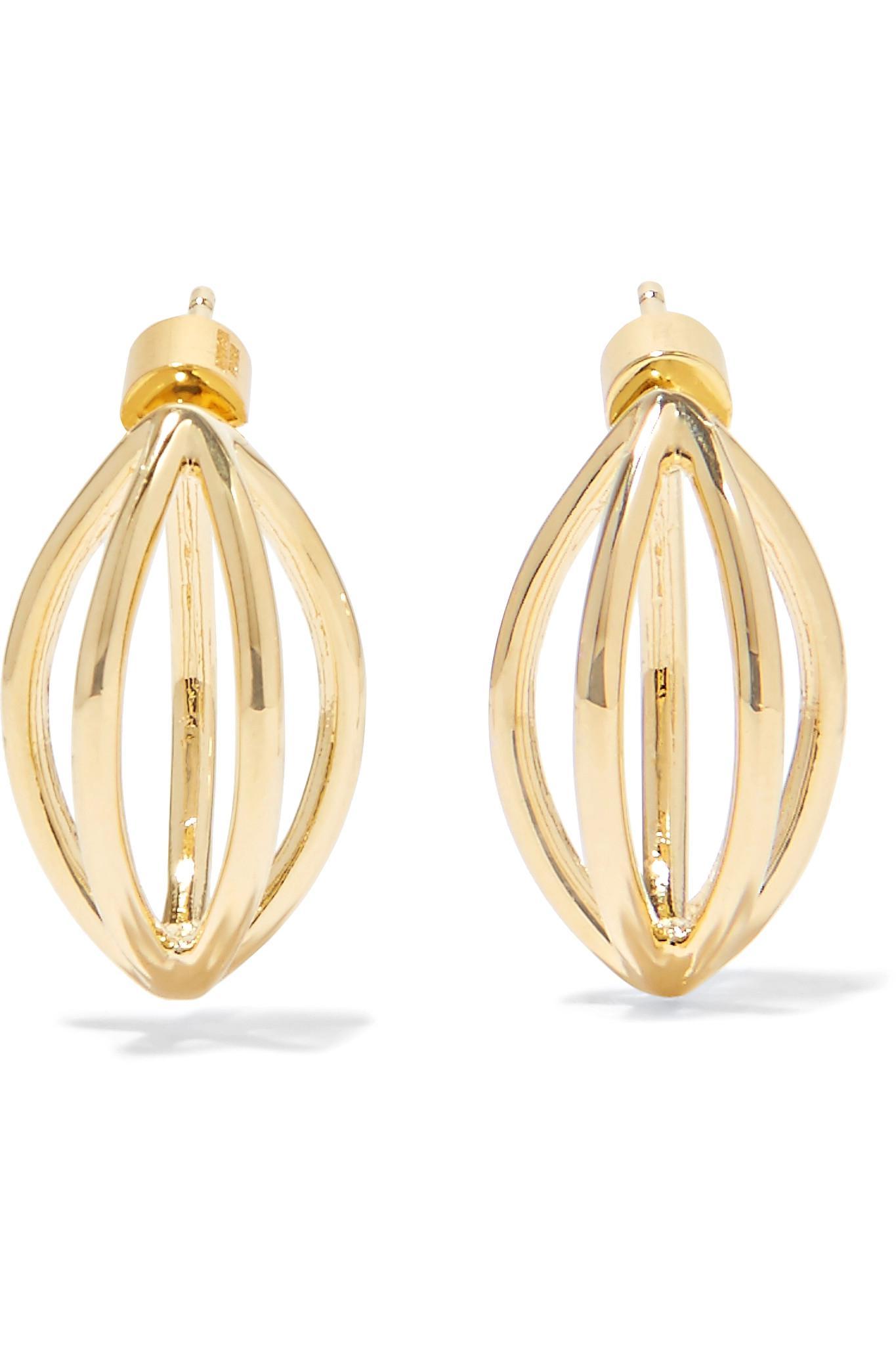 Jennifer Fisher Unicorn Gold-plated Earrings sL9VGOzD2