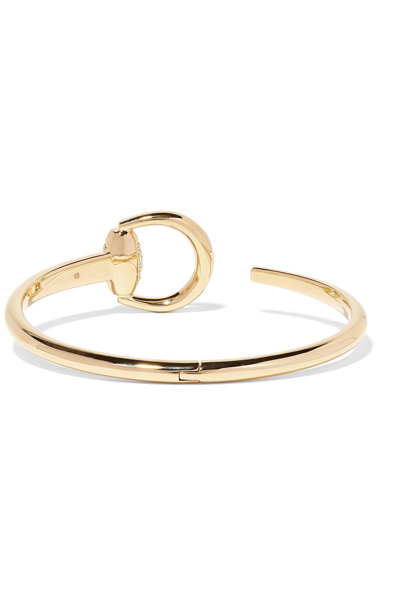 Gucci 18-karat Gold Diamond Bracelet 6laPC