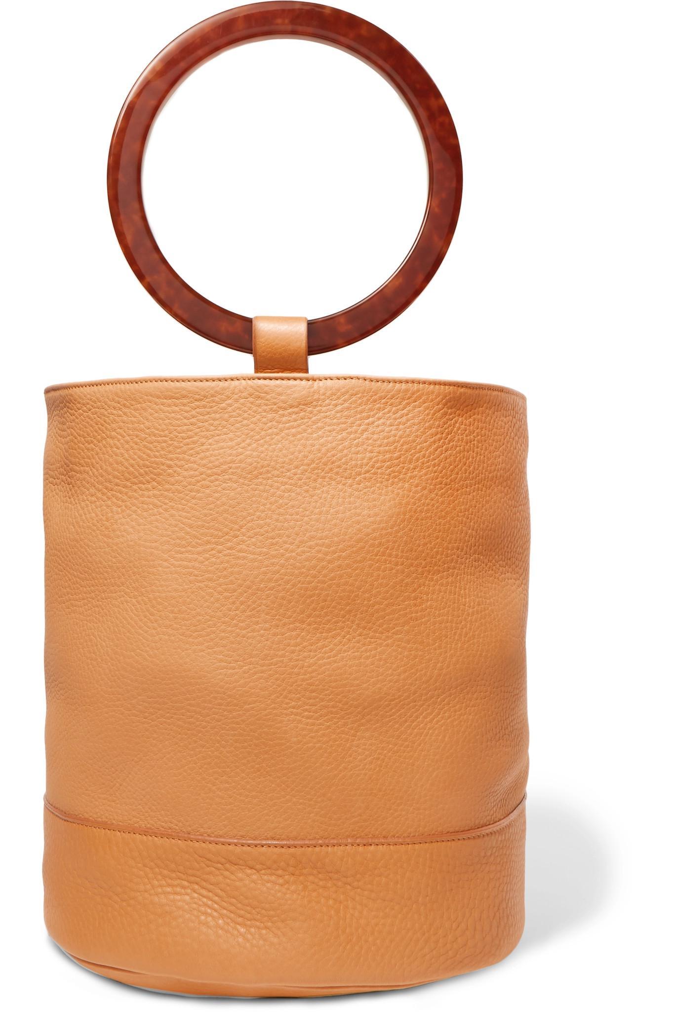 Bonsai 30 Nubuck Bucket Bag - Off-white Simon Miller 48izc