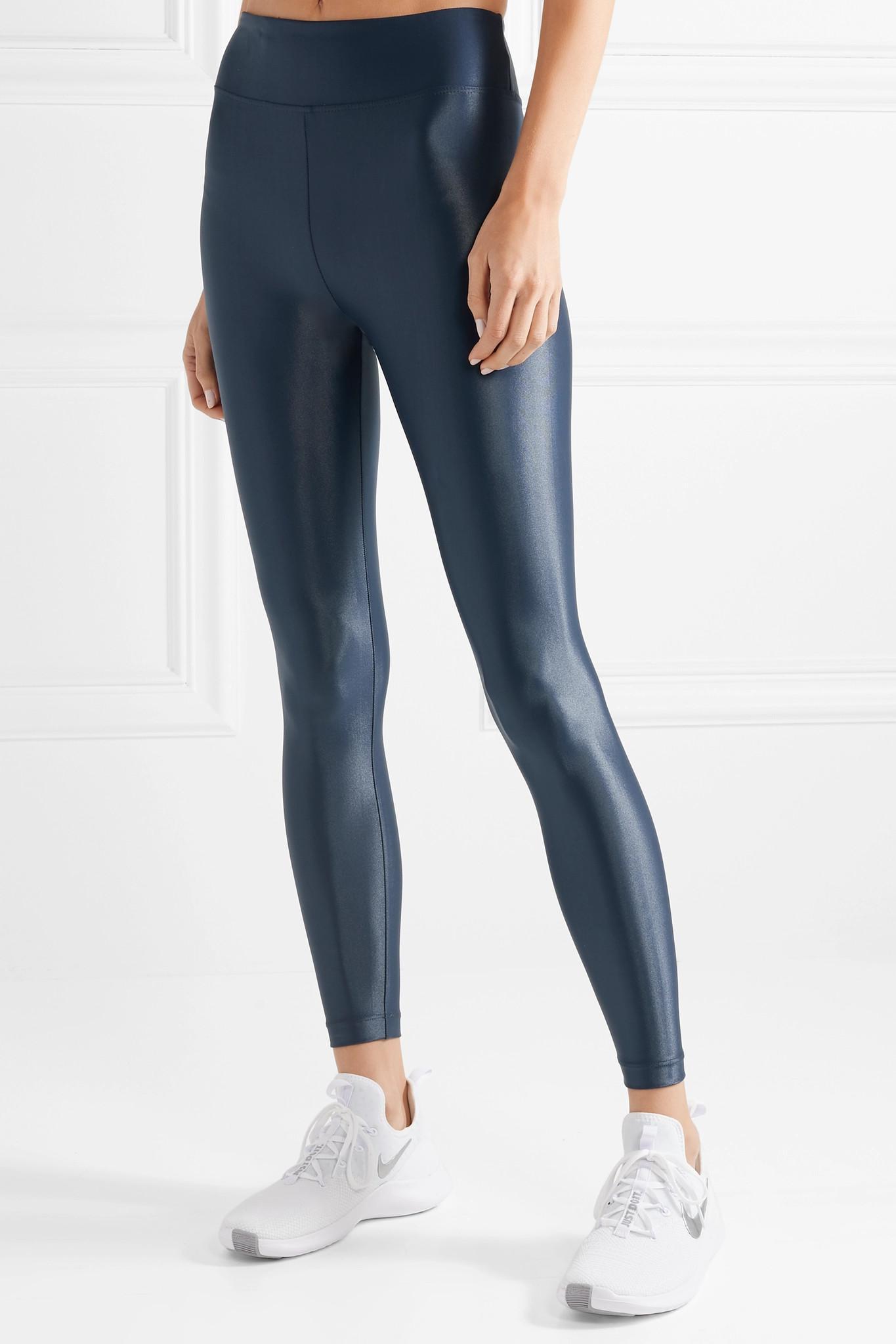 fa3781b37a274 Koral Lustrous Stretch Leggings in Blue - Lyst