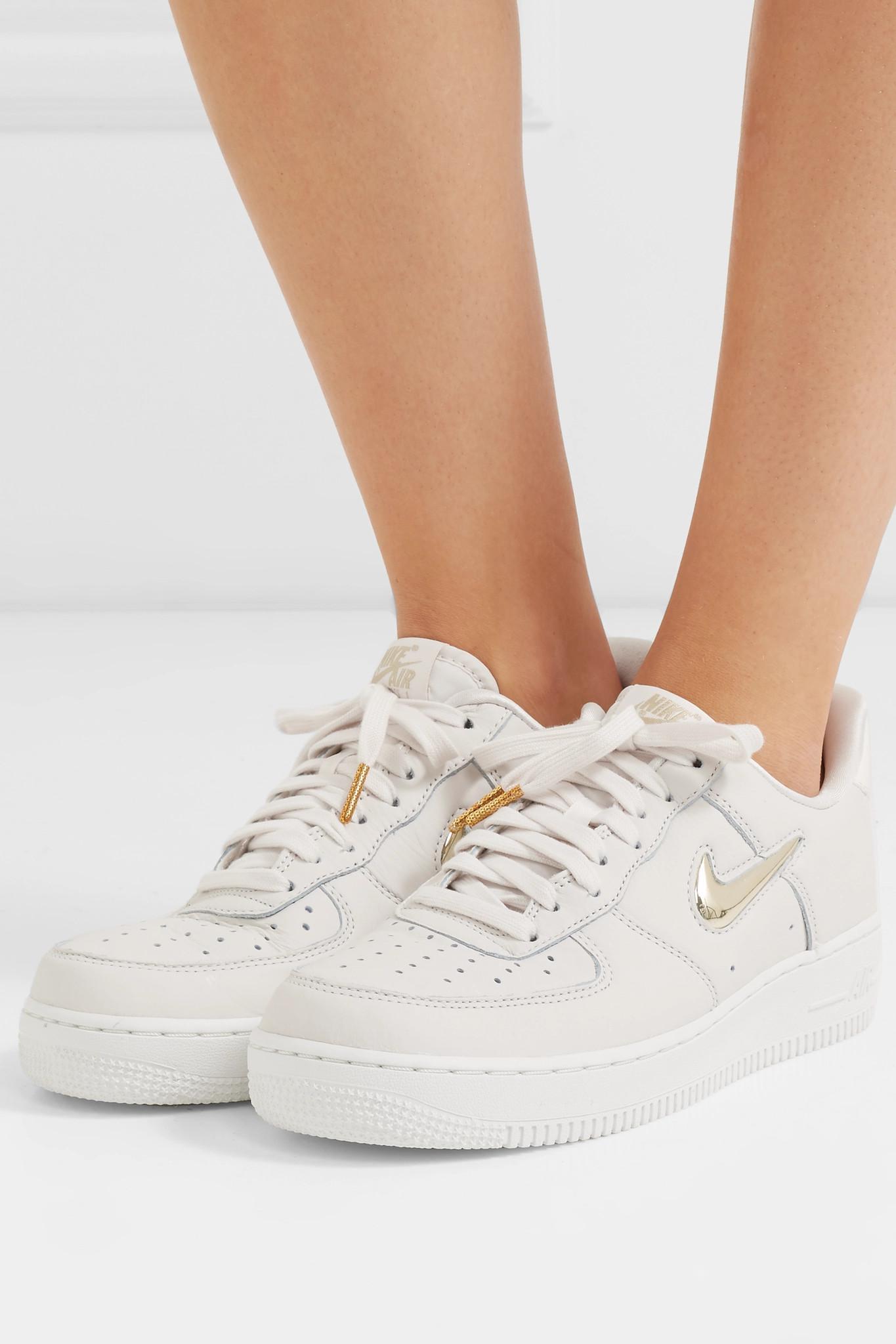 nike air force 1'07 premium sneakers in cream