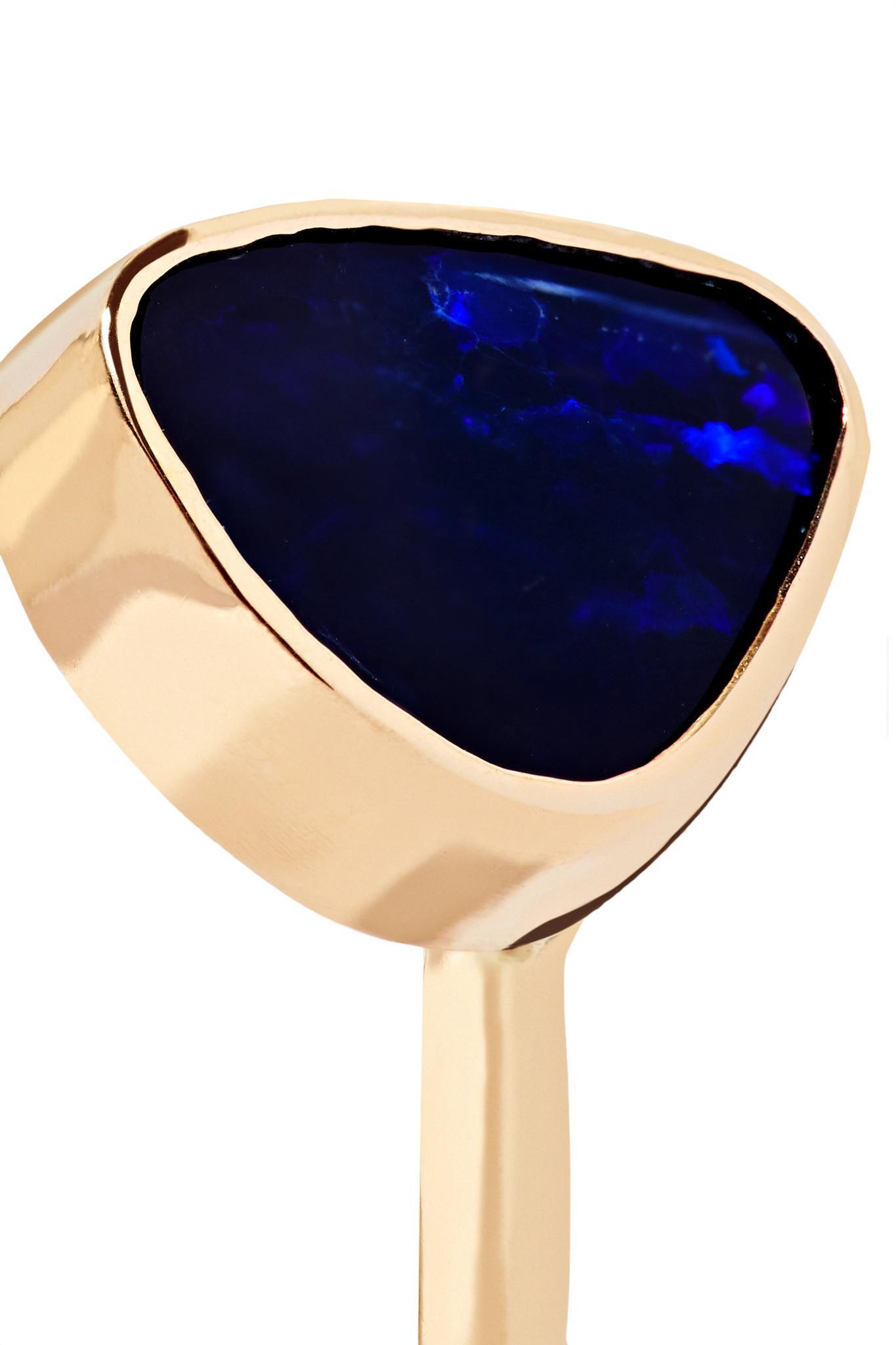 Melissa Joy Manning 14-karat Gold Opal Ring Gold 6 in Metallic