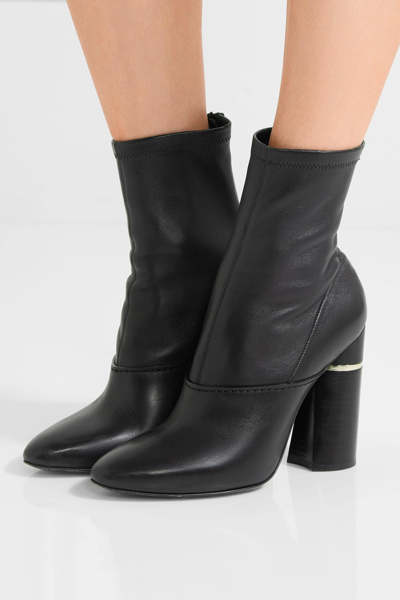 3.1 Phillip Lim Kyoto Leather Ankle Boots countdown package mkQnCWk