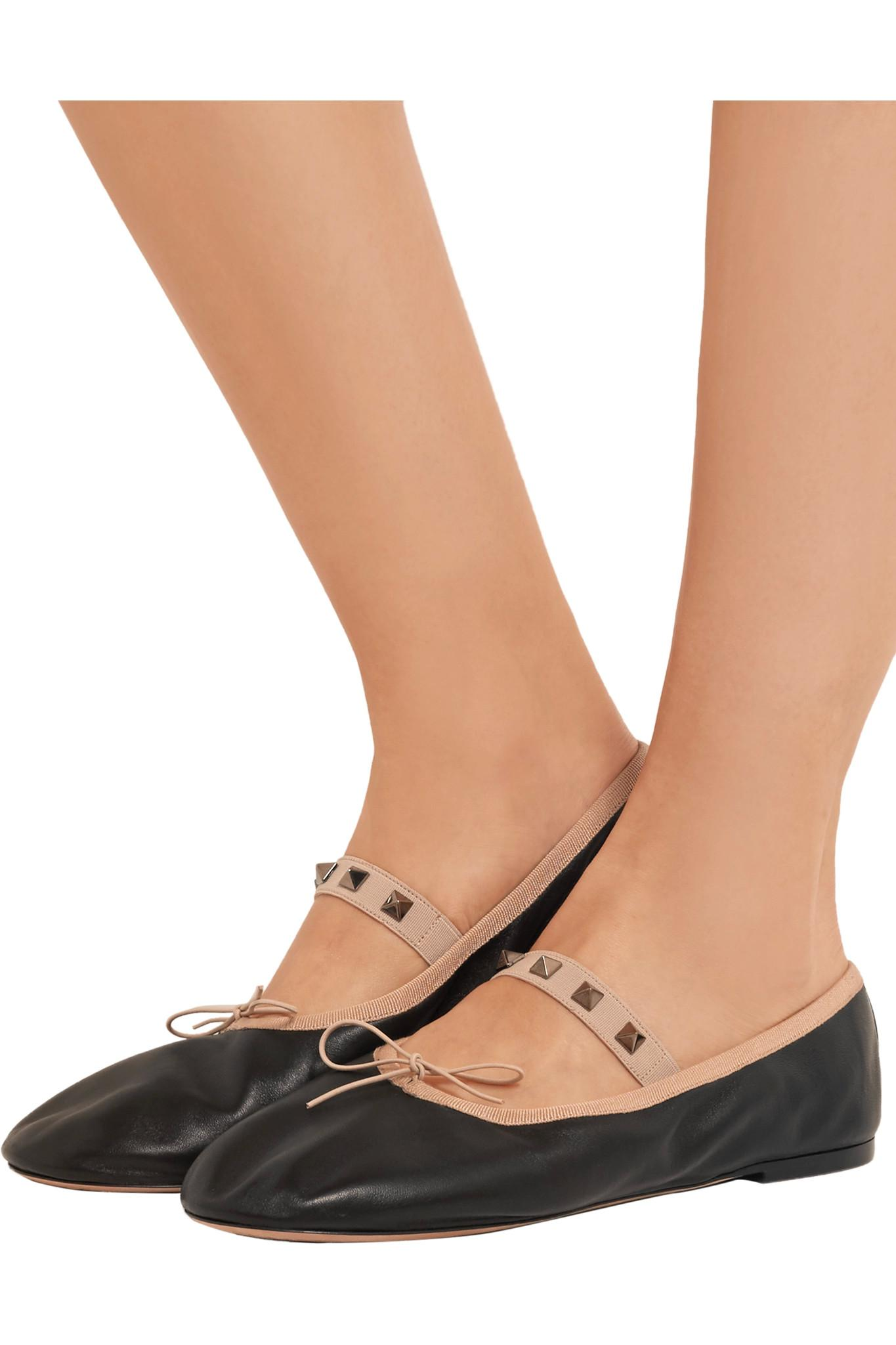 low shipping fee sale online free shipping wide range of Valentino Embellished Ballet Flats genuine buy cheap prices collections cheap price jKP5z1