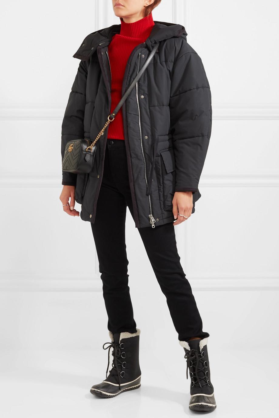 best cheap performance sportswear new appearance Sorel Caribou Slim Waterproof Nubuck And Rubber Boots in Black - Lyst