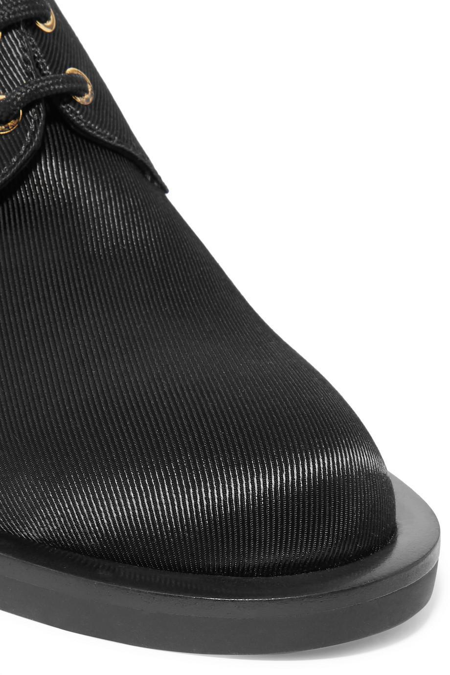 For Sale Finishline Choice Sale Online Casati Embellished Satin-drill Brogues - Black Nicholas Kirkwood s2ccfuEX