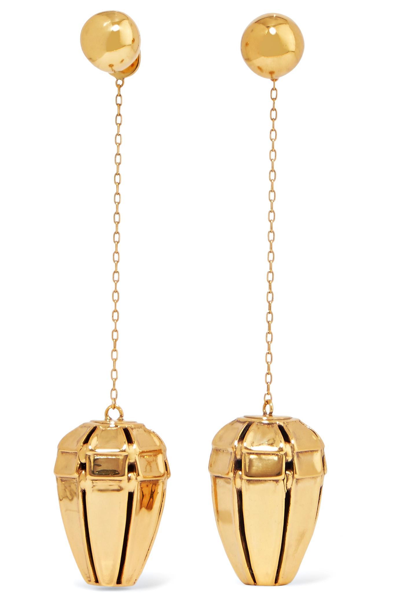 Ellery Varment Gold-plated Earrings 6sxBwmY1F