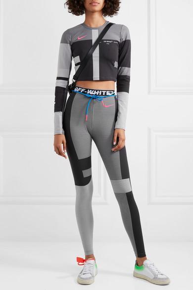 buy \u003e nike off white women's leggings